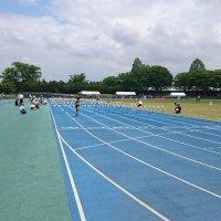 結城市小学校陸上記録会〜80mハードル男女予選