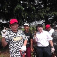 6月25日(火)ボランティアの大学生