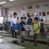 7月23日(火)夏休みの器楽練習