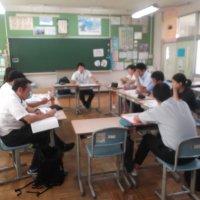 8月1日(木)結城中学校区小中連携協議会
