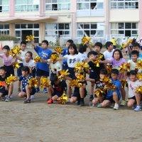 運動会学年練習(3・4年)