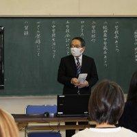 結城南中学校の入学説明会が開かれました